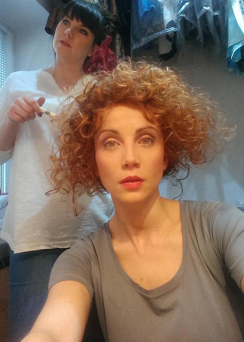 Katarzyna Zielińska peruka